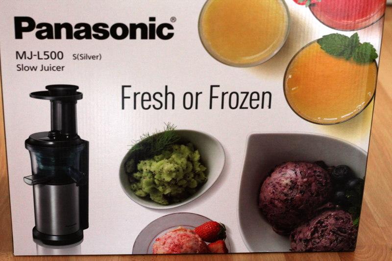 Panasonic MJ-L500SXE Slow Juicer Testbericht