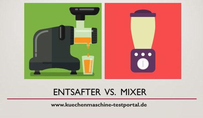 Entsafter vs. Mixer: Was ist gesünder – Saft oder Smoothie?