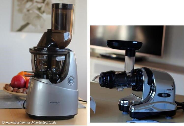 Vertikaler Slow Juicer vs. Horizontaler Slow Juicer Vergleich