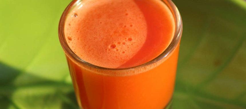 Die gesundheitliche Wirkung von Karottensaft