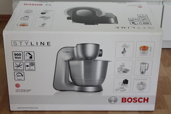 Bosch Mum56340 Kuchenmaschine Styline Mum5 Im Test