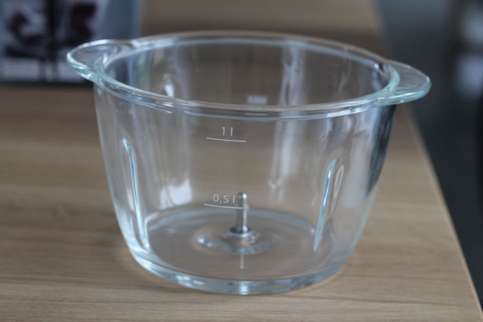 Glasbehälter des WMF Kult X Zerkleinerer