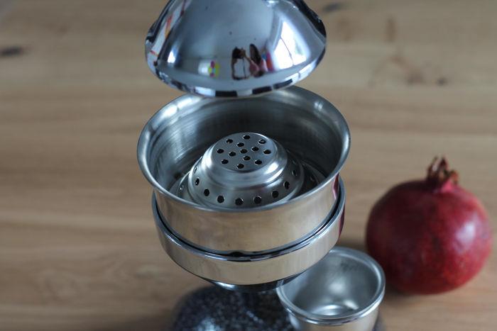 Granatapfelsaft: Herstellung mit der Granatapfelpresse