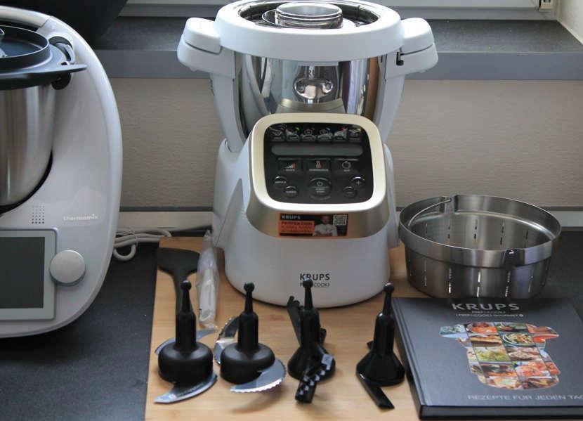 Krups Prep Cook HP5031 Küchenmaschine mit Kochfunktion Test
