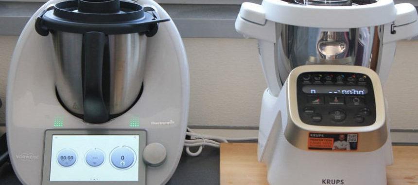 Krups Prep & Cook HP5031 im Test und Vergleich mit Thermomix