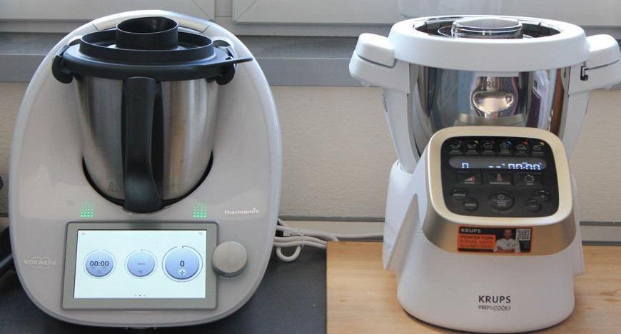 Krups Prep & Cook HP5031 im Vergleich zum Thermomix TM6