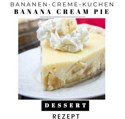 Bananen-Creme-Kuchen aus den USA