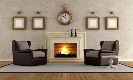 Wohnzimmer Gemütlich Mit Kamin Einrichten
