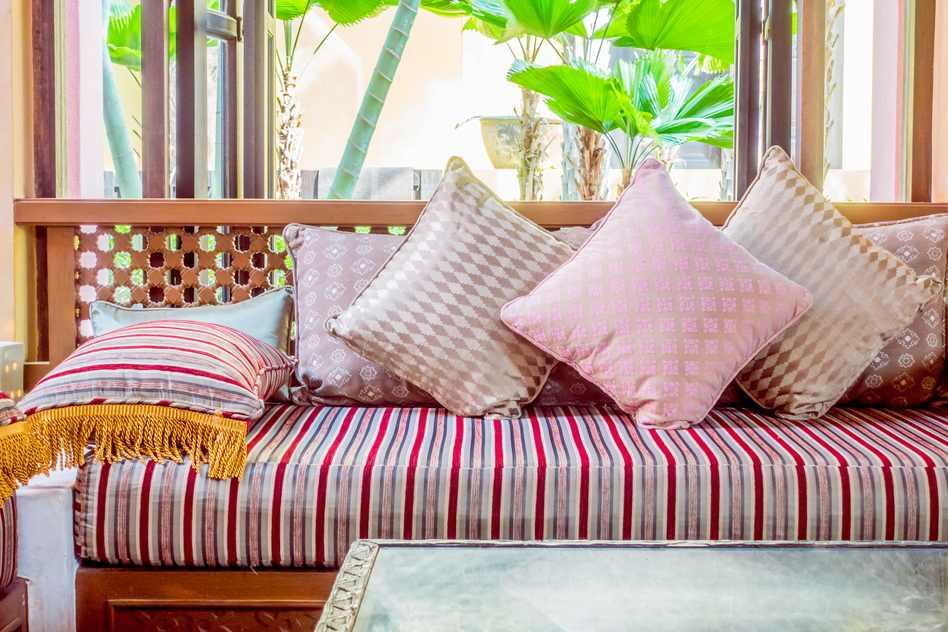 Sofa aus Holz - Marokkanisch