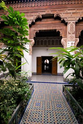 Palace in Marrakesch - Marokko