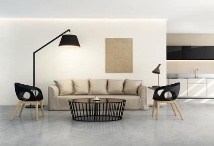 Wohnzimmer Im Skandinavischen Stil Einrichten