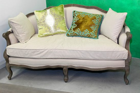 Sofa Im Rokoko Stil