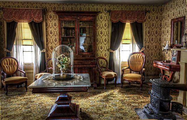 Wohnzimmer Im Viktorianischen Stil Einrichten