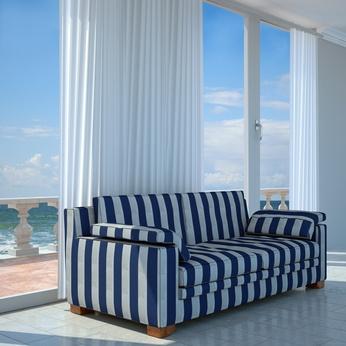 blaue sofas wohnzimmer inspirationen mit meeresblau und wei223