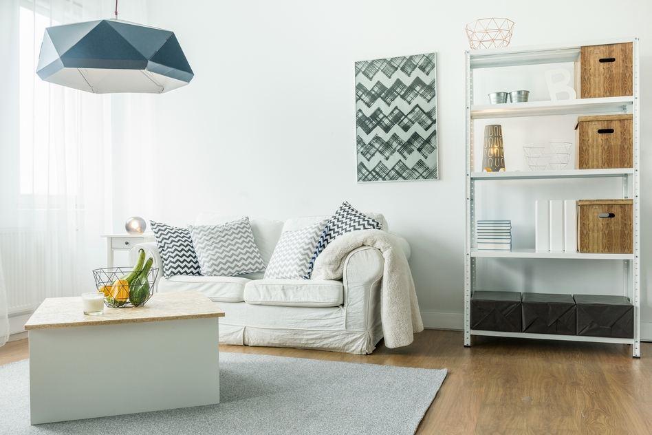 Kleines Wohnzimmer einrichten: Tipps und Tricks