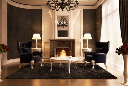 Wohnzimmer Idee: Extravagant, Barock Stil