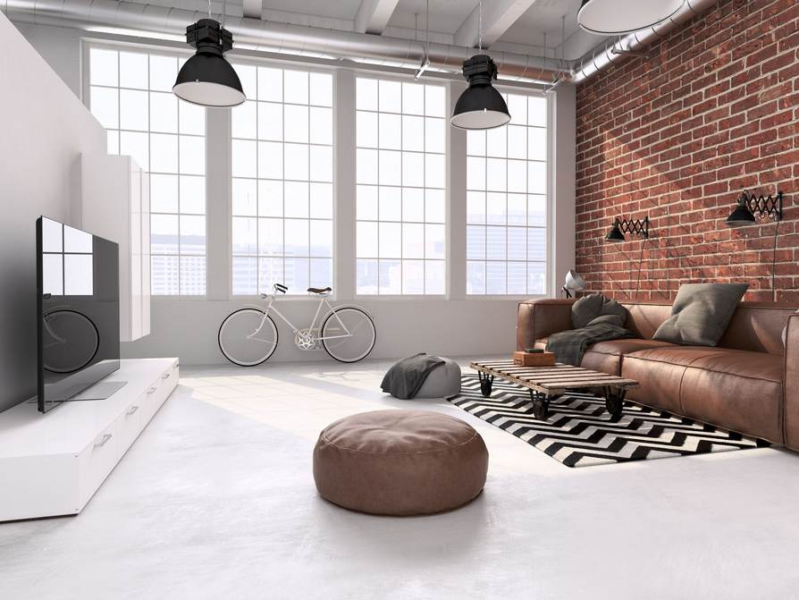 Awesome Industrial Chic Wohnzimmer Pictures - Interior Design Ideas ...