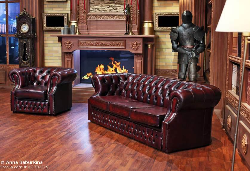 wie erkennt man ein echtes chesterfield sofa. Black Bedroom Furniture Sets. Home Design Ideas
