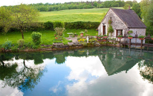 Schwimmteich - Landhausstil