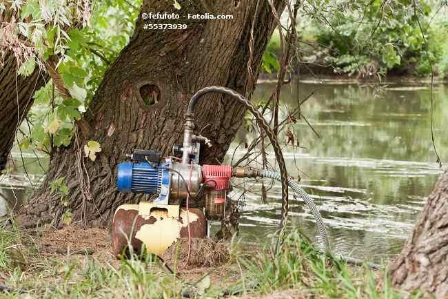 Hauswasserwerk - Teich abpumpen