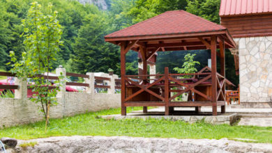 Photo of Holz Pavillon: TOP 5 der schönsten Gartenlauben