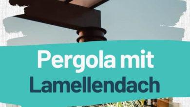 Photo of Pergola mit Lamellendach: TOP 3 Modelle