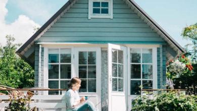 Photo of Gartenhaus aus Holz: Mit Pult-, Sattel- und Flachdach